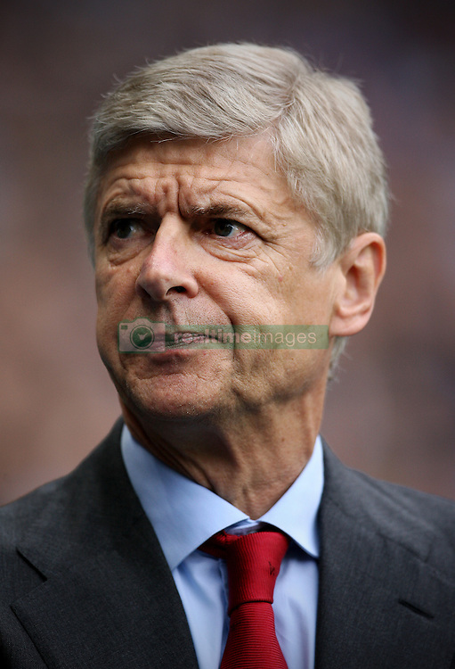23rd September 2012 - Barclays Premier League - Manchester City vs. Arsenal - Arsenal manager Arsene Wenger - Photo: Simon Stacpoole / Offside.