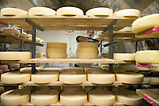 Mateo and Andy Kehler make award-winning cheese at Jasper Hill Farm in Greensboro, Vermont.