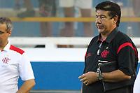 20120401: MACAE, RIO DE JANEIRO,  BRAZIL - Coach Joel Santana during Flamengo Vs Bangu match for Campeonato Carioca (Carioca cup) held at Moacyrzao stadium <br /> PHOTO: CITYFILES
