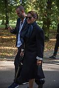 TRACEY EMIN, Frieze opening day. Regent's Park. London. 2 October 2019
