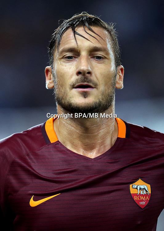 Italian League Serie A -2016-2017 / <br /> ( AS Roma ) - <br /> Francesco Totti