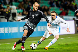 Josip Ilicic of Slovenia during friendly football match between National teams of Slovenia and Belarus, on March 27, 2018 in SRC Stozice, Ljubljana, Slovenia. Photo by Ziga Zupan / Sportida