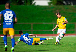 Mitja Lotrič of Celje vs Matevž Matko of Bravo during football match between NK Bravo and NK Celje in 13th Round of Prva liga Telekom Slovenije 2019/20, on October 5, 2019 in ZAK stadium, Ljubljana, Slovenia. Photo by Vid Ponikvar / Sportida