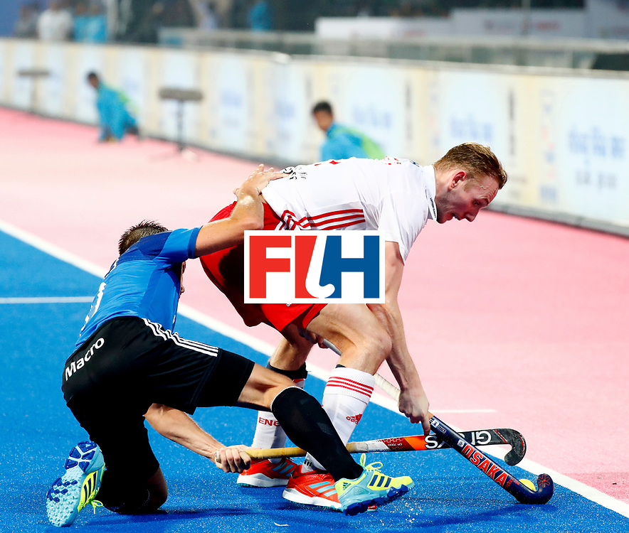 Odisha Men's Hockey World League Final Bhubaneswar 2017<br /> Match id:14<br /> England v Argentina<br /> Foto: David Ames (Eng) <br /> COPYRIGHT WORLDSPORTPICS KOEN SUYK