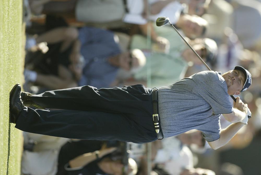John Rollins..2003 Phoenix Open.TPC at Scottsdale, Scottsdale, AZ..January  25, 2003..Photograph by Darren Carroll..X67646