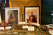 The Explorers Club club's Trophy Room, display of a signed Dalai Lama image...Founded in New York City in 1904, The Explorers Club promotes the scientific exploration of land, sea, air, and space by supporting research and education in the physical, natural and biological sciences. The Club's members have been responsible for an illustrious series of famous firsts: First to the North Pole, first to the South Pole, first to the summit of Mount Everest, first to the deepest point in the ocean, first to the surface of the moon--all accomplished by our members.
