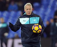 Football - 2016 / 2017 Premier League - Crystal Palace vs. Swansea City<br /> <br /> Alan Curtis,  Swansea coach at Selhurst Park.<br /> <br /> COLORSPORT/ANDREW COWIE