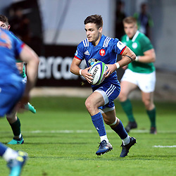 Arthur Coville of France U20 during the U20 World Championship match between France and Ireland on May 30, 2018 in Perpignan, France. (Photo by Manuel Blondeau/Icon Sport)