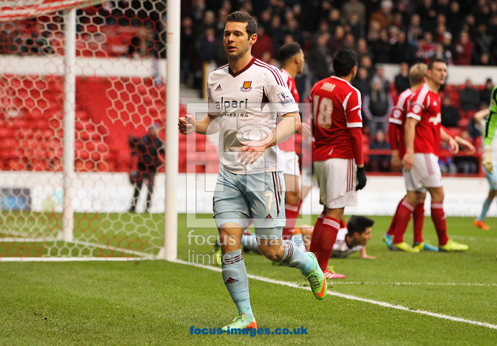 Picture by Tom Smith/Focus Images Ltd 07545141164<br /> 05/01/2014<br /> Matthew Jarvis of West Ham United during the The FA Cup match at the City Ground, Nottingham.
