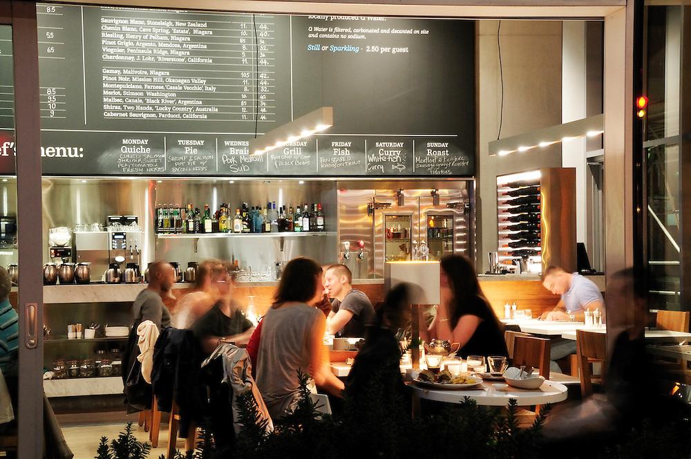 Cafe,Tiff Bell Lightbox, Toronto, Ontario, Canada,