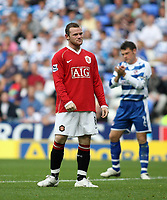 Photo: Chris Ratcliffe.<br />Reading v Manchester United. The Barclays Premiership. 23/09/2006.<br />Wayne Rooney of Manchester United.