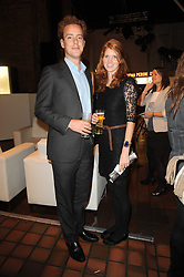TOM INSKIP and LARA HUGHES YOUNG at the Launch of Peroni Nastro Azzurro Accademia del Film Wrap Party Tour held atThe Boiler House, 152 Brick Lane, London E1 on 25th August 2010.