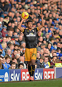 Cambridge United Defender Darnell Furlong during the Sky Bet League 2 match between Portsmouth and Cambridge United at Fratton Park, Portsmouth, England on 27 February 2016. Photo by Adam Rivers.