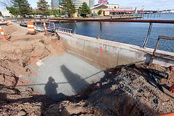 Boathouse at Canal Dock Phase II   State Project #92-570/92-674 Construction Progress Photo Documentation No. 15 on 22 September 2017. Image No. 31