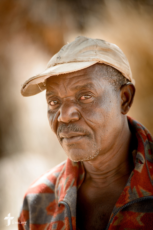 A portrait of Lare Lambombik on Tuesday, Feb. 14, 2017, outside a rural village home in Sankpong, Togo. LCMS Communications/Erik M. Lunsford