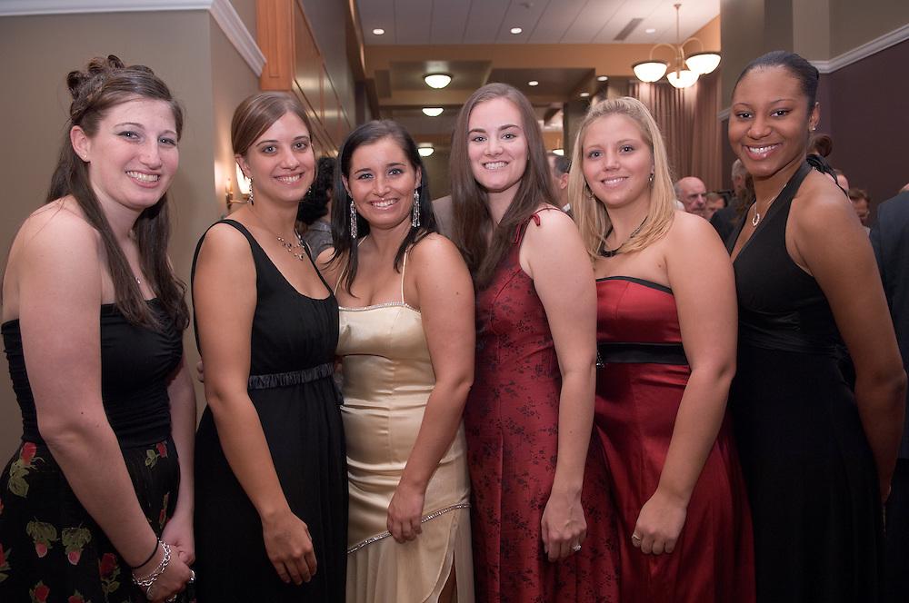 18450Alumni Awards Gala: Homecoming Oct. 12, ..Senior Class Council...KImberly Kanner, Mary Miller, Lynn Walsh, Rachel Resides, Rachel Bear and Cherrelle Turner