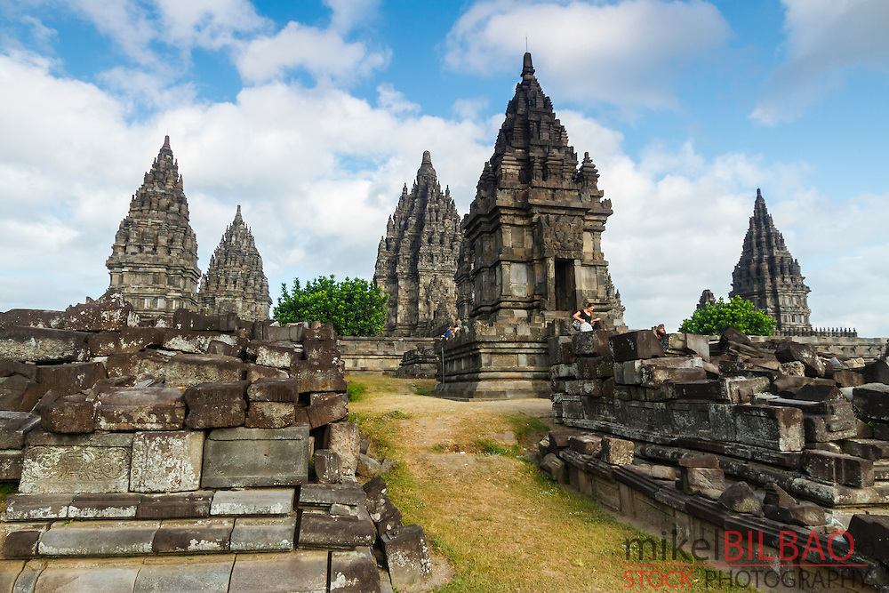 Prambanan Hindu temple. Central Java. Indonesia, Asia.