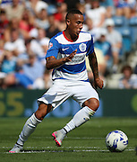 Tjaronn Chery (QPR midfielder) trying to probe and find an opening during the Sky Bet Championship match between Queens Park Rangers and Rotherham United at the Loftus Road Stadium, London, England on 22 August 2015. Photo by Matthew Redman.