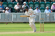 Jake Libby of Nottinghamshire batting during the Specsavers County Champ Div 1 match between Somerset County Cricket Club and Nottinghamshire County Cricket Club at the Cooper Associates County Ground, Taunton, United Kingdom on 10 June 2018. Picture by Graham Hunt.