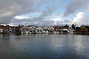 Henley on Thames. United Kingdom.  General View across the River Thames at the Oxfordshire. Henley Reach.   <br /> <br /> Saturday  28/01/2017<br /> <br /> © Peter SPURRIER<br /> <br /> LEICA CAMERA AG  LEICA Q (Typ 116)  f4  1/2000sec  28mm  3.6MB