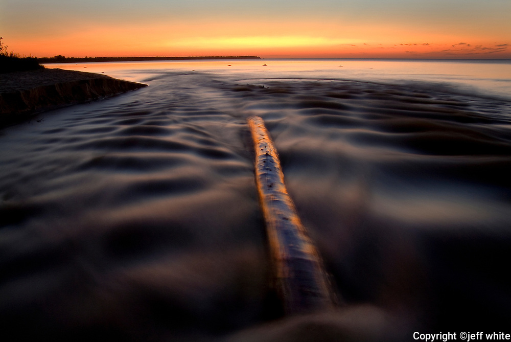 photos of michigan sunsets and beaches