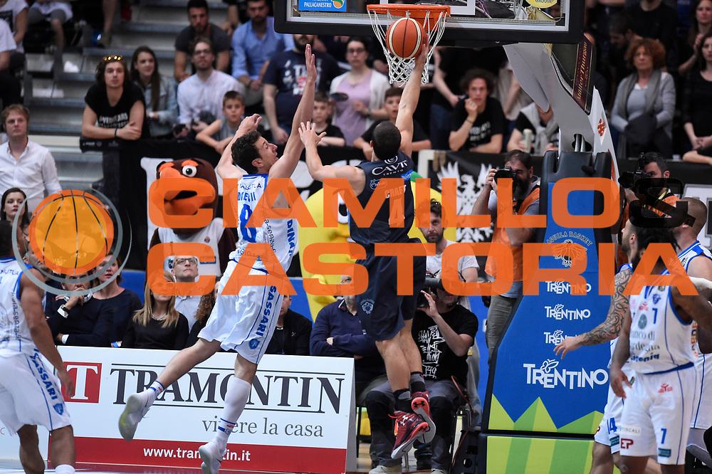 Craft Aaron<br /> Quarti di Finale Gara 2<br /> Legabasket A 2016,2017<br /> Trento 14,05,2017<br /> Foto Ciamillo-Castoria,GiulioCiamillo