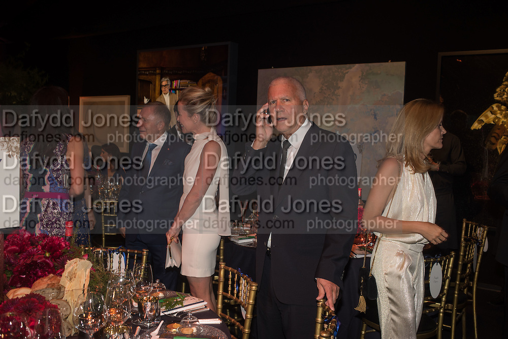 LARRY GAGOSIAN, The Neo Romantic Art Gala in aid of the NSPCC. Masterpiece. Chelsea. London.  30 June 2015