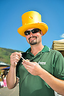 Keith Bulicz, City of Aspen recreation supervisor and main organizer of the 2012 Aspen Mac 'N Cheese Festival in Aspen, Colorado.