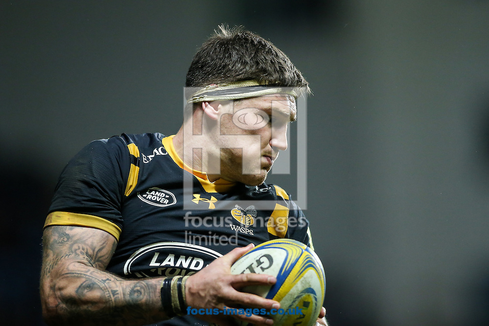 Matt Symons of Wasps during the Aviva Premiership match at the Ricoh Arena, Coventry<br /> Picture by Andy Kearns/Focus Images Ltd 0781 864 4264<br /> 08/01/2017