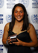 Women's player of the year Victoria Grant.<br />Auckland Rugby Awards Evening, Sky City Convention Centre, Auckland, Friday 31 October 2008. Photo: Renee McKay/PHOTOSPORT