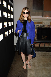 NAOMI PREIZLER at the SportMax + Cutler & Gross launch party hosted by Leigh Lezark at The Arts Club, 40 Dover Street, London on 23rd October 2013.
