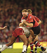 Cardiff, WALES.  Munster's,  Mick O'Driscoll, during the  2006 Heineken Cup Final,  Millennium Stadium,  between Biarritz Olympique and Munster,  20.05.2006. © Peter Spurrier/Intersport-images.com,  / Mobile +44 [0] 7973 819 551 / email images@intersport-images.com.   [Mandatory Credit, Peter Spurier/ Intersport Images].14.05.2006   [Mandatory Credit, Peter Spurier/ Intersport Images].