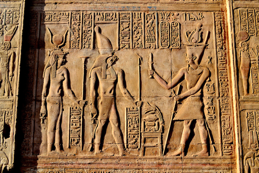 a look at ptolemaic egypt and the falcon of horus Egypt: dendera, the cosmos of hathor  on the left a falcon-headed god who is named horus,  dendera governorate qena egypt ancient egyptian ptolemaic roman .