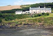 Cottages, Abercastle bay, Pembrokeshire, Wales