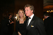 LUCY SANGSTER AND BEN SANGSTER, The 2007 Cartier Racing Awards. Four Seasonss Hotel. London. 14 November 2007. -DO NOT ARCHIVE-© Copyright Photograph by Dafydd Jones. 248 Clapham Rd. London SW9 0PZ. Tel 0207 820 0771. www.dafjones.com.