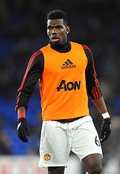 Paul Pogba of Manchester United warms up - Mandatory by-line: Nizaam Jones/JMP - 22/12/2018 -  FOOTBALL - Cardiff City Stadium - Cardiff, Wales-  Cardiff City v Manchester United - Premier League