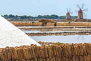 Trapani saline, July 2010 - Finalist in the Wiki Loves Monuments Italian contest 2017