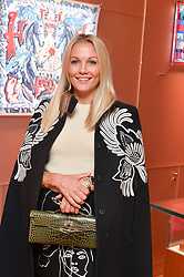 CAROLINE FLEMING at a party to celebrate the launch of Le Jardin de Monsieur Li by Hermes in association with Mr Fogg's was held at Hermes, 155 New Bond Street, London on 9th July 2015.