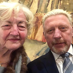 """Boris Becker releases a photo on Instagram with the following caption: """"Happy Mother\u2019s Day Elvira! #home"""". Photo Credit: Instagram *** No USA Distribution *** For Editorial Use Only *** Not to be Published in Books or Photo Books ***  Please note: Fees charged by the agency are for the agency's services only, and do not, nor are they intended to, convey to the user any ownership of Copyright or License in the material. The agency does not claim any ownership including but not limited to Copyright or License in the attached material. By publishing this material you expressly agree to indemnify and to hold the agency and its directors, shareholders and employees harmless from any loss, claims, damages, demands, expenses (including legal fees), or any causes of action or allegation against the agency arising out of or connected in any way with publication of the material."""