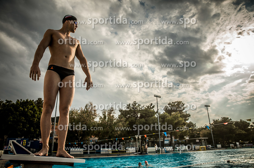 Peter John Stevens during practice session of Slovenian Swimming National Team, on June 7, 2017 in Zusterna, Koper / Capodistria, Slovenia. Photo by Vid Ponikvar / Sportida