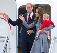 Prince George & Parents Kate and William Depart Australia1a