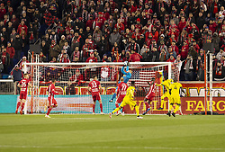 STYLEPREPENDLuis Robles (31) of Red Bulls saves during 2nd leg MLS Cup Eastern Conference semifinal game against Columbus Crew SC at Red Bul Arena Red Bulls won 3 - 0 agregate 3 - 1 and progessed to final  (Credit Image: © Lev Radin/Pacific Press via ZUMA Wire)