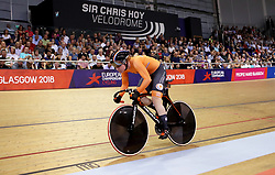 Netherland's Hetty Van De Wouw competes in the Women's 500m Time Trial Final during day five of the 2018 European Championships at the Sir Chris Hoy Velodrome, Glasgow.