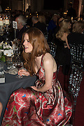 ROSE LESLIE, Luminous -Celebrating British Film and British Film Talent,  BFI gala dinner & auction. Guildhall. City of London. 6 October 2015.