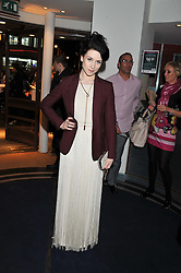 DANIELLE HOPE at the What's On Stage Awards 2012 held at the Prince of wales Theatre, London on 19th February 2012.