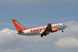 © Licensed to London News Pictures. © Licensed to London News Pictures. 19/11/13. Budget airline Easyjet has reported a rise of 50.9% in annual profits to £478m  <br /> <br /> FILE PHOTO Easyjet .  Photo credit : Ian Schofield/LNP