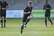 Forest Green Rovers George Williams(11) warming up during the Pre-Season Friendly match between Torquay United and Forest Green Rovers at Plainmoor, Torquay, England on 10 July 2018. Picture by Shane Healey.