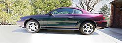 18 April 2014:   1996 Ford Mystic Cobra Mustang