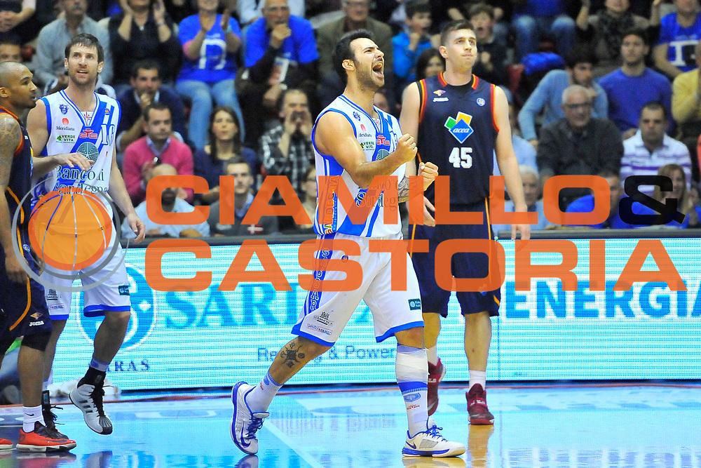 DESCRIZIONE : Campionato 2013/14 Dinamo Banco di Sardegna Sassari - Acea Virtus Roma<br /> GIOCATORE : Brian Sacchetti<br /> CATEGORIA : Ritratto Esultanza Controcampo<br /> SQUADRA : Dinamo Banco di Sardegna Sassari<br /> EVENTO : LegaBasket Serie A Beko 2013/2014<br /> GARA : Dinamo Banco di Sardegna Sassari - Acea Virtus Roma<br /> DATA : 19/04/2014<br /> SPORT : Pallacanestro <br /> AUTORE : Agenzia Ciamillo-Castoria / Luigi Canu<br /> Galleria : LegaBasket Serie A Beko 2013/2014<br /> Fotonotizia : Campionato 2013/14 Dinamo Banco di Sardegna Sassari - Acea Virtus Roma<br /> Predefinita :