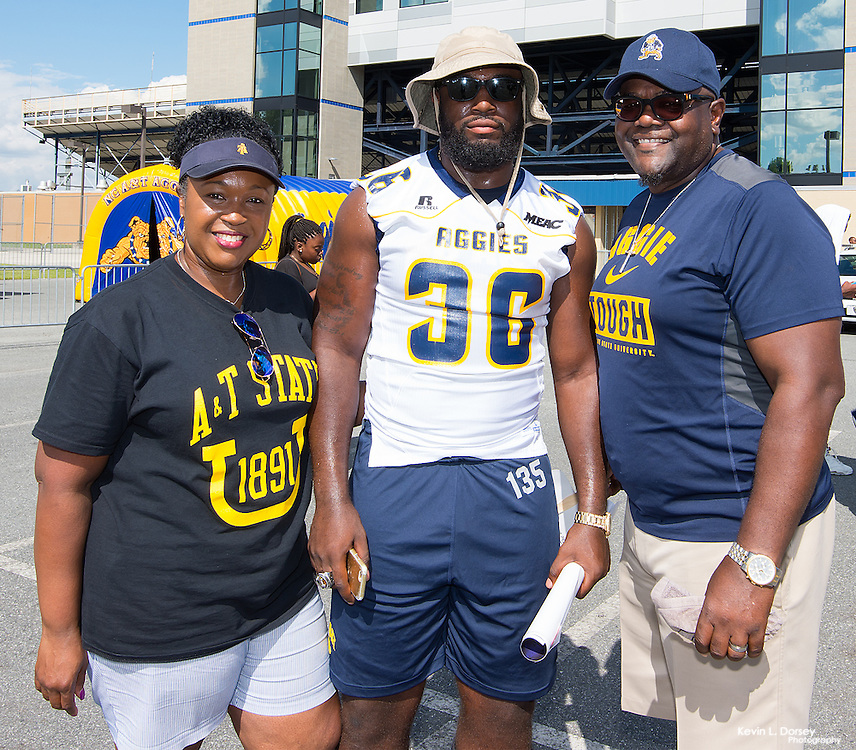 2016 A&T Fun Fest in the Aggie Stadium Parking Lot at NC A&T State University in Greensboro, NC